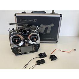 Graupner MZ24 pro + GR24 + GR16 + GPS