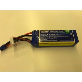 E-flite 6S 1300mAh - second hand