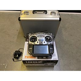 Futaba 18SZ radio with charger and case (no receiver)