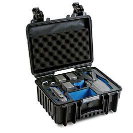 B&W Outdoor Case Type 4000 for DJI Mavic 2 w Smart Controller - Black