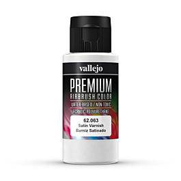 Premium Color Satin Varnish 60 ml.