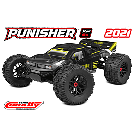 Team Corally - Punisher XP 6S 1/8 monster truck LWB - RTR 6S