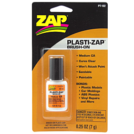 ZAP Plasti-Zap Brush-On - Medium CA for plastics PT-102 (7g)