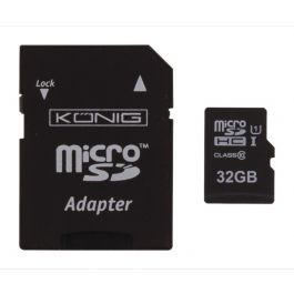 Micro SD card 32GB + adaptor class 10