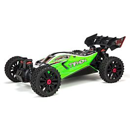Arrma 1/8 TYPHON Brushed 4WD Speed Buggy RTR Int, Green