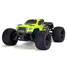Arrma 1/10 GRANITE MEGA 550 4WD Monster Truck RTR, Green/Black