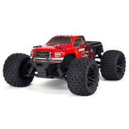 Arrma 1/10 GRANITE MEGA 550 4WD Monster Truck RTR, Red/Black