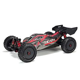 Arrma 1/8 TYPHON 6S BLX 4WD Brushless Buggy w Spektrum RTR, Red/Grey