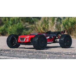 1/8 TALION 6S BLX 4WD Brushless Truggy RTR, Red/Black (ARA106048)