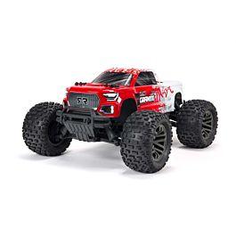 ARRMA GRANITE 4X4 3S BLX BRUSHLESS 1/10TH 4WD MONSTER TRUCK (ROOD)