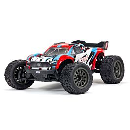 ARRMA VORTEKS 4X4 3S BLX 1/10th Stadium Truck (Red)