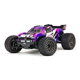 ARRMA VORTEKS 4X4 3S BLX 1/10th Stadium Truck (Purple)