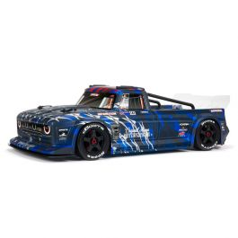 Arrma Infraction Resto Mod 6S BLX Street Bash 1/7 4WD RTR (Blue)