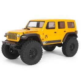 1/24 SCX24 2019 Jeep Wrangler JLU CRC Rock Crawler 4WD RTR, Yellow