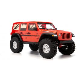 1/10 SCX10 III Jeep JLU Wrangler with Portals RTR, Red (AXI03003T2