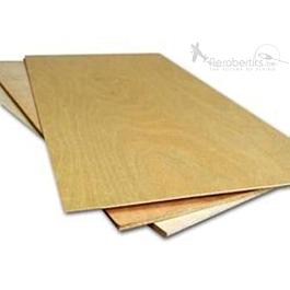 Plywood Sheet (Birch) 5x250x500mm