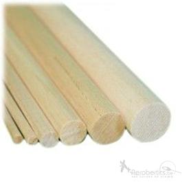 Hardwood Spar (round) 6x1000mm