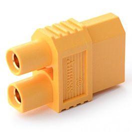 """Adaptateur """"One piece"""" XT60 controleur (M) vers EC3 batterie (F)"""