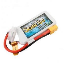Gens Ace Soaring 1000mAh 2S 7.4V 30C Batterie LiPo