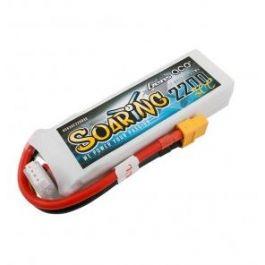 Gens Ace Soaring 2200mAh 3S 11.1V 30C LiPo Batterij