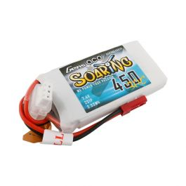 Gens Ace Soaring 450 mAh 2S 7.4V 30C Batterie LiPo