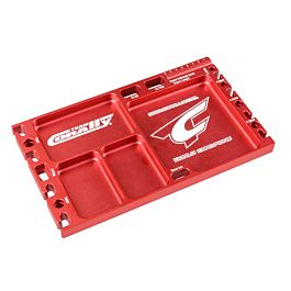 Multi-purpose Ultra Tray - CNC Machined aluminium - Red Color