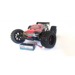 COMBO - Kronos XP 6S 1/8 monster truck RTR with 4S 100C 6750MAH