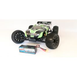 COMBO - Shogun XP 6S 1/8 Truggy LWB RTR with 4S 100C 6750MAH