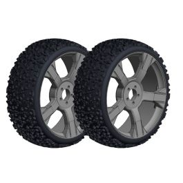 Team Corally - Off-Road 1/8 Buggy Tires - Ninja - Low Profile