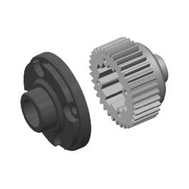 Team Corally - Diff Gear - Metal - Diff Gear Cover - Composite