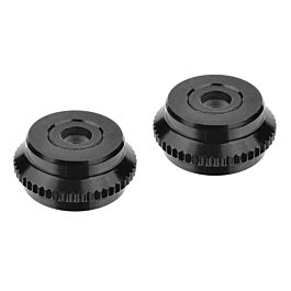 Team Corally -Shock Cap- Lower Aluminium 2pcs