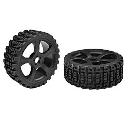 Team Corally - Off-Road 1/8 Buggy Tires - Xprit - Low Profile - Glue