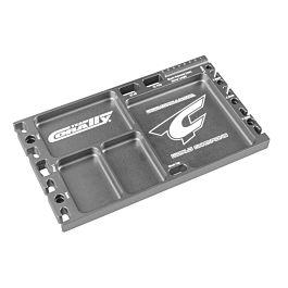 Multi-purpose Ultra Tray - CNC Machined aluminium - Titanium Color