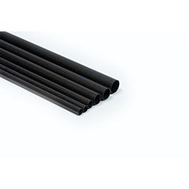 Carbon tube ultralight 25x22x1000mm