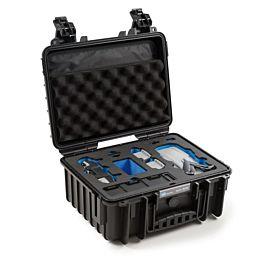 B&W Outdoor Case Type 3000 for DJI Mavic Air 2 - Black