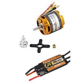 D-Power Brushless set AL 42-07 Motor + 60A Comet ESC