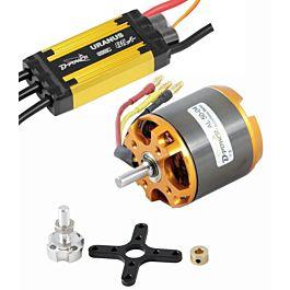 D-Power Propulsion Set AL50-04 motor & 85A Uranus ESC