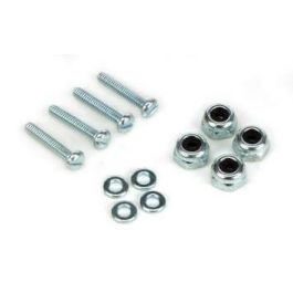 Dubro Bolt Set w/Lock Nuts 3-48 x 3/4 (4 pcs) - Discontinued