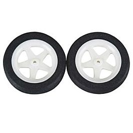 Dubro - 47mm Micro Sport Wheels (186MS) -  2pcs