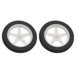 "Dubro - 76mm (3"") Micro Sport Wheels (300MS) - 2pcs"