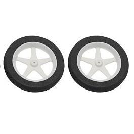 "Dubro - 76mm (3"") Micro Sport Wheels (300MS) - 2pcs"