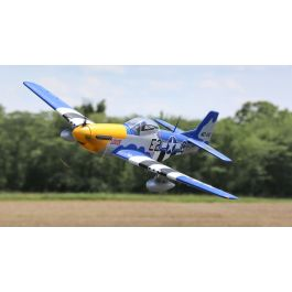 P-51D Mustang 1.5m BNF Basic with Smart (EFL01250)