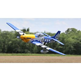 P-51D Mustang 1.5m PNP with Smart (EFL01275)