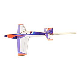 Extreme Flight Extra Orange/White/Blue Scheme Stick Plane