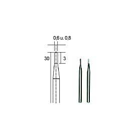 Proxxon - Tungsten Carbide Frezen 0.6 / 0.8mm