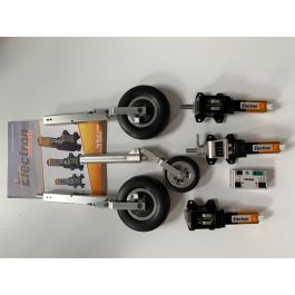 Electron set for Sebart PC-21 XL, ER40 set, RB45, Legs & wheels