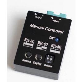 Electron manual retract controller