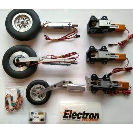 Electron set for JMB PC-21, ER40 set, RB45, Legs & wheels