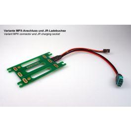 """PCB montage batterie 3S """"Compact"""" - MPX/JR"""