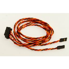 EWC6 fuselage cable with JR sockets, 40cm (15.75in)
